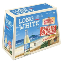 Long White Vodka Apple & Pear (10 x 320ml bottles)