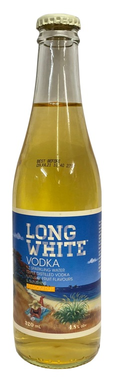Long White Vodka Passionfruit (320ml bottle)