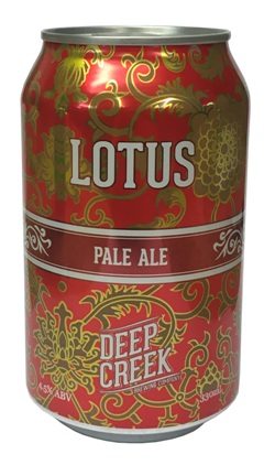 Deep Creek Lotus Pale Ale (330ml Can)