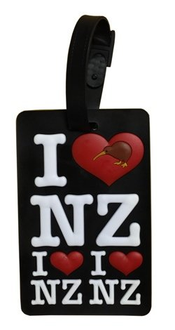 Luggage Tag - I Love NZ