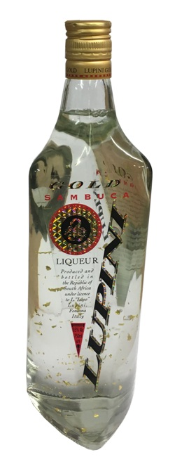 Lupini Sambucca Gold (750ml)