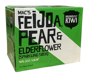 Macs Feijoa, Pear & Elderflower (12 x 330ml bottles)