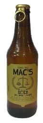 Macs Gold - All Malt Lager (330ml bottle)