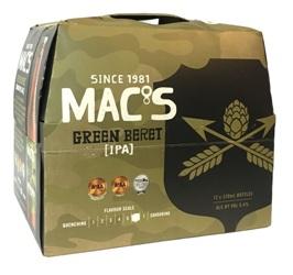 Macs Green Beret (12 x 330ml bottles)