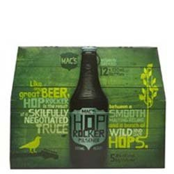 Macs Hop Rocker - Pilsener (12 x 330ml bottles)