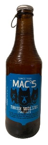 Macs Three Wolves Pale Ale (330ml bottle)