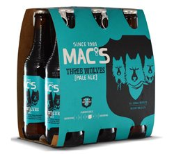 Macs Three Wolves Pale Ale (6 x 330ml bottles)