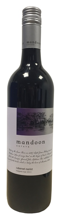 Mandoon Cabernet Merlot 2017 (750ml)