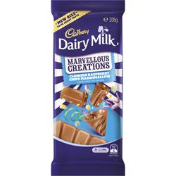 Cadbury Marvellous Creations Clinkers Raspberry Chips Marshmallow (205g)
