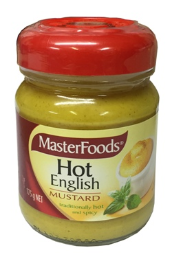 Masterfoods Hot English Mustard (175g)