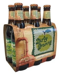Matilda Bay Dirty Granny Cider (6 x 345ml bottles)