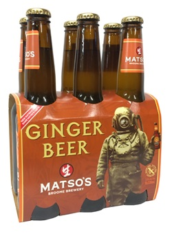 Matso Ginger Beer (6 x 330ml bottles)