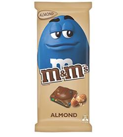 M&Ms Almond Chocolate Block (155g)