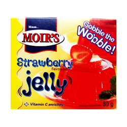 Moirs Jelly - Strawberry (80g)