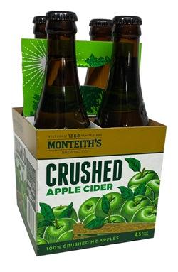 Monteiths Crushed Apple Cider (4 x 330ml bottles)