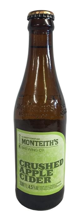 Monteiths Crushed Apple Cider (330ml bottle)