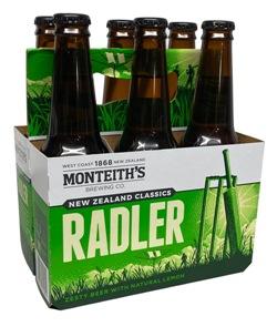 Monteiths Radler (6 x 330ml bottles)
