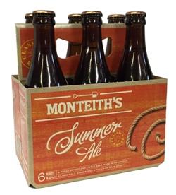 Monteiths Summer Ale (6 x 330ml bottles)
