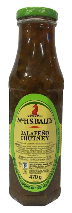 Mrs Balls Chutney - Jalapeno (470g)