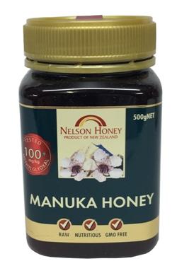 Nelson Honey  - Manuka Honey 100+ (500g)