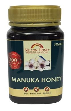 Nelson Honey - Manuka Honey 300+ (500g)