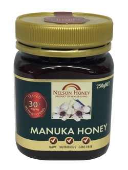 Nelson Honey - Manuka Honey Multifloral 30+ (250g)