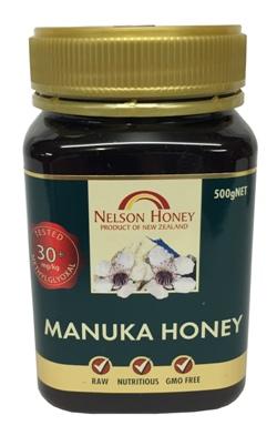 Nelson Honey - Manuka Honey 30+ (500g)