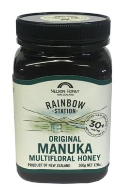 Nelson Honey - Rainbow Station Manuka Multifloral Honey 30+ (500g)