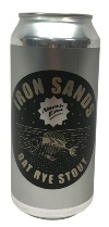 North End Iron Sands Oat Rye Stout (440ml)