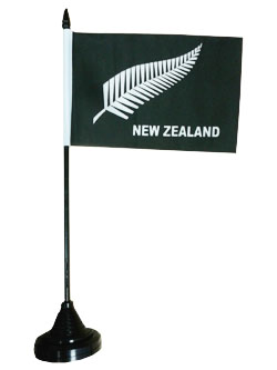 New Zealand Flag - Fern (Desktop)