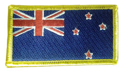 New Zealand Flag Sew On Patch