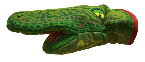 Oven Mitt Crocodile