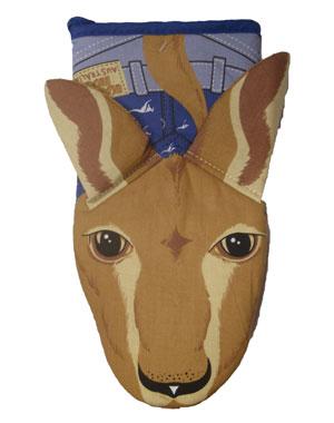 Oven Mitt Kangaroo