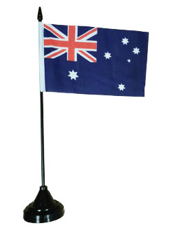 Australian Desk Flag (6 x 4in)