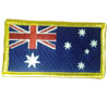 Australian Flag Sew on Patch (Yellow Border)