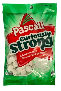 Pascall Curiously Strong (150g)