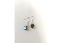 Natural Paua Chunk Earrings