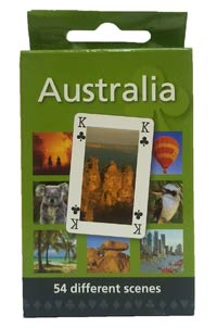 Playing Cards - Scenic Views Of Australia