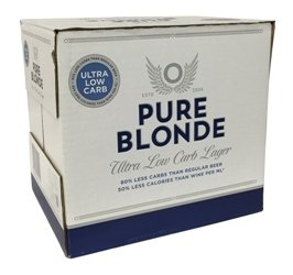 Pure Blonde (12 x 355ml bottles)