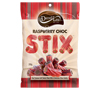 Darrell Lea Raspberry Milk Choc Sticks (200g)