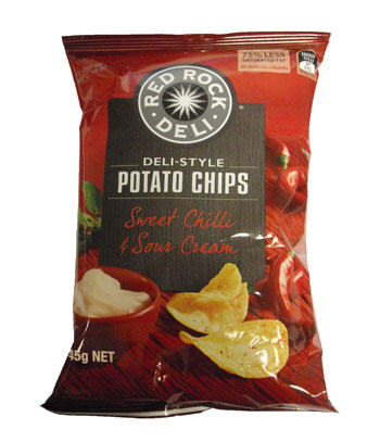 Red Rock Deli Sweet Chilli & Sour Cream (45g)