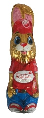 Red Tulip Easter Bunny (110g)