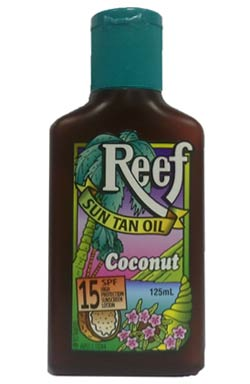 Reef Sun Tan Oil SPF 15 (125ml)