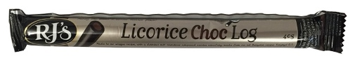 RJs Licorice - Chocolate Log (40g)