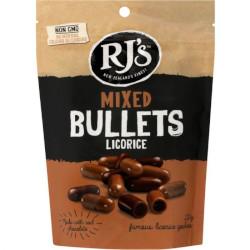 RJs Mixed Licorice Bullets (220g)