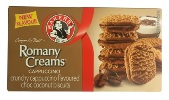 Bakers Romany Creams - Cappuccino (200g)