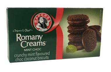 Bakers Romany Creams  - Mint Choc (200g)