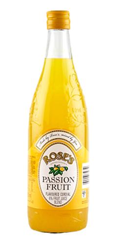 Roses Passion Fruit Cordial (750ml)