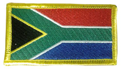 South African Flag Sew On Patch