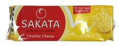 Sakata Gluten Free Rice Crackers - Cheddar Cheese (100g)